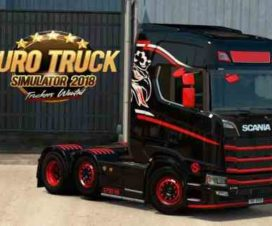 Pack of neon lights and flares Scania Next Gen