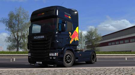 Scania RJL – Red Bull Racing Formula One Team 2018 Edition 1.30