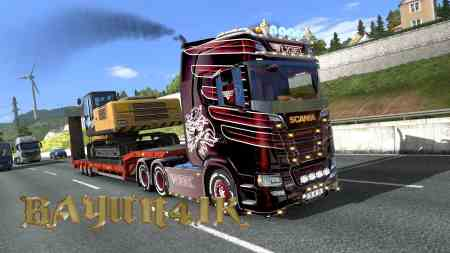 Scania S 2016 SCS Vogel custom skin 1.30
