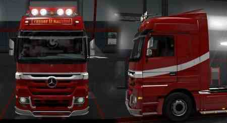 Skin Yasser for Truck Mercedes Actors