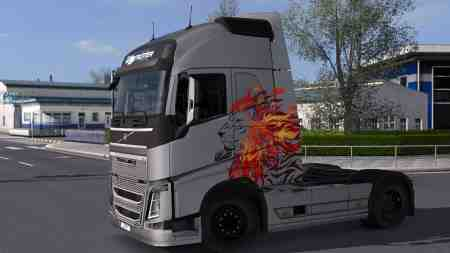 Volvo FH 2012 – I'm The King Metallic Paintjob