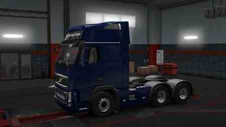 Volvo FH16 Classic 6×4 Sideskirts 1.30