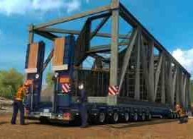 150 Tons Trailer for Special Transport 1.30