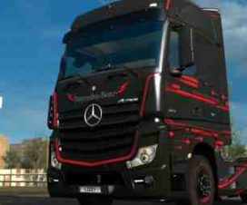 Mercedes Benz Actros 2014 – Accessio Paintjob by l1zzy