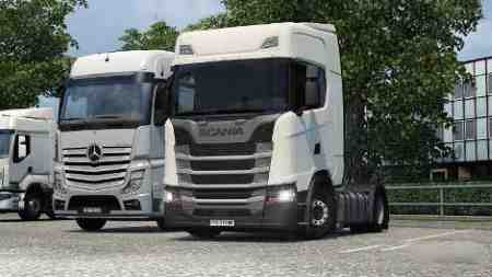 Scania R S – Low Deck