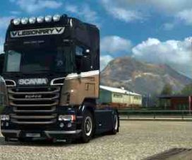 Scania RJL – Legionary Paintjob by l1zzy