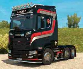 Skin A.Poole for Scania S 2016 NG [1.30]