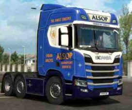 Skin ALSOP Transport for Scania R 2016 NG 1.30