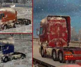 snow mod for winter ets2 1.30