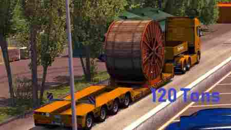 120 Tons Heavy Cargo Trailers