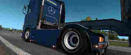 Back Exhaust for Scania S