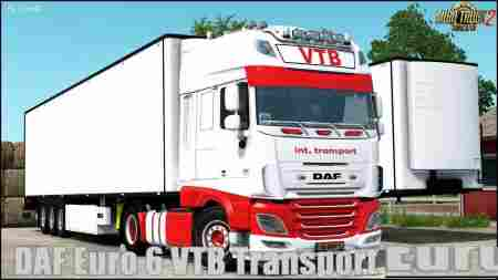 DAF E6 VTB Transport Edition + Trailer