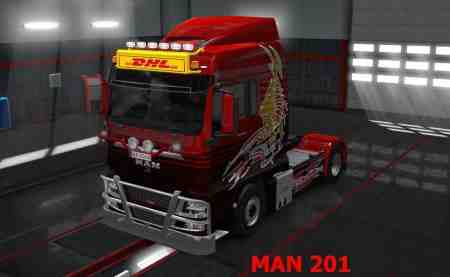 Lightbox for MAN + Iveco