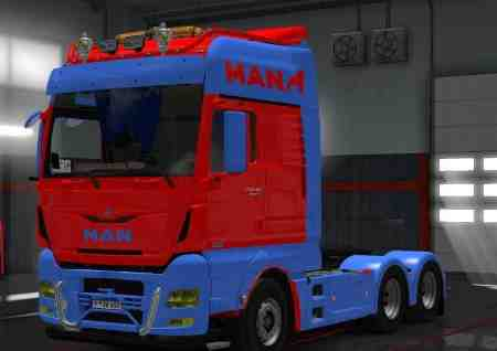 Multiple Color Skin for MAN TGX Euro6 by MADSTER