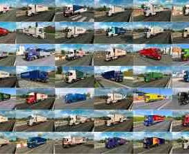Painted Truck Traffic Pack by Jazzycat v5.5