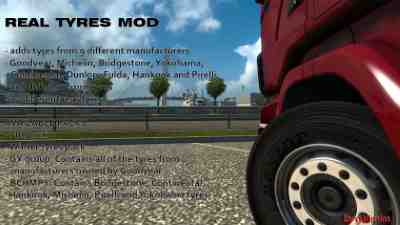 Real Tyres Mod v6