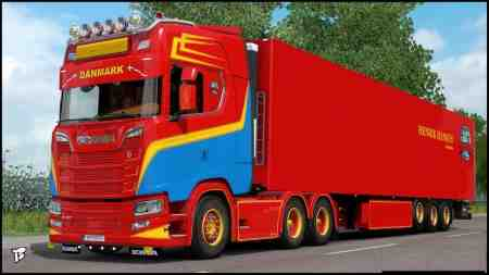 Scania S Next Generation Henrik Hansen Skin Pack