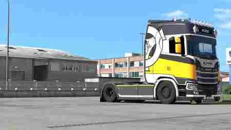 Scania S – Reunion Paintjob by l1zzy