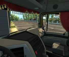 Animated Side Curtains for DAF 105