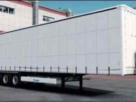 Krone Container 2x20ft 4 Axe Trailer 1.31