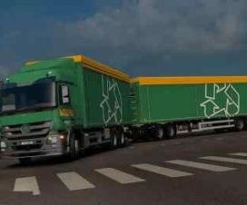 Rigid Chassis for Mercedes Actros MP3 Reworks – ByCapital v3