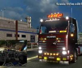 Scania 143m – Edit by Ekualizer patch – 1.31
