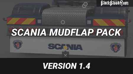 Scania Mudflap Pack v1.4 1.27-1.31