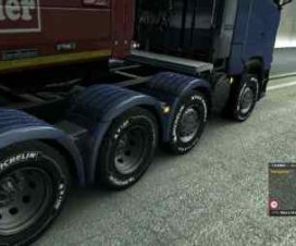 Scania R and S 8×4 chassis SCS Soft Updated v1
