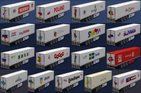 Trailers of all European countries v1