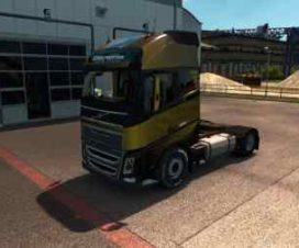 Volvo FH 2013 Low Chasis Addon
