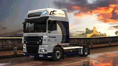 ets2 daf xf special krone good year event skin