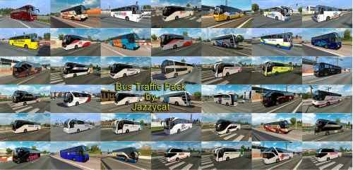 Bus Traffic Pack by Jazzycat v4.3