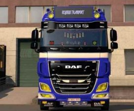 DAF Yellow Lights 1.31