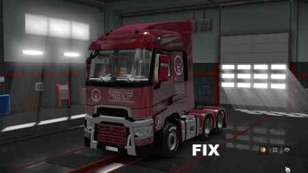 Fix for a truck Renault Range T
