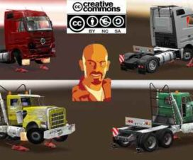 LOADS PACK FOR CRANE TRUCKS v2.0 ETS2 1.31