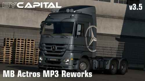MB Actros MP3 Reworks – ByCapital v3.5