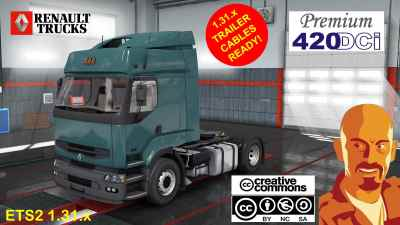 RENAULT PREMIUM dCi Fix & Edit ETS2 1.31