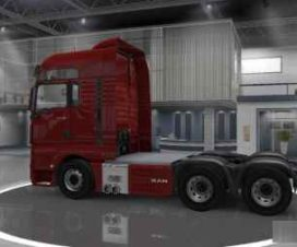 Reworked MAN TGX 6×4 Chassis