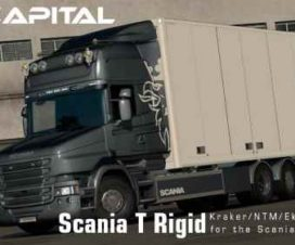 Rigid chassis for RJL Scania T & T4 (Kraker NTM Ekeri) v3.0