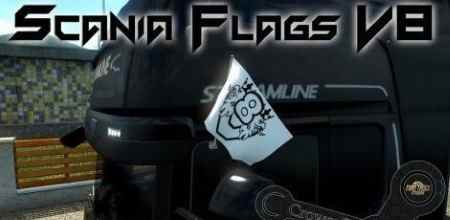 Scania V8 Original Flags
