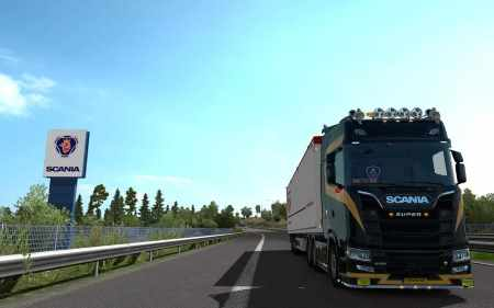 Scania S Next Gen Gold Skin