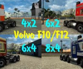 Volvo F10 F12 v1.0 Edit by Mjtemdark
