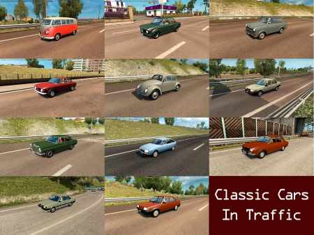 Classic Cars Traffic Pack by TrafficManiac v1.2