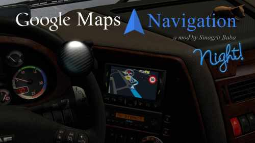 Google Maps Navigation Night Version v1.4 1.32