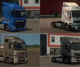 Low deck chassis addons for Schumi's trucks v1.8.1