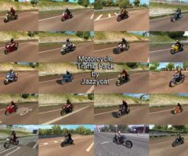 Motorcycle Traffic Pack by Jazzycat v1.4
