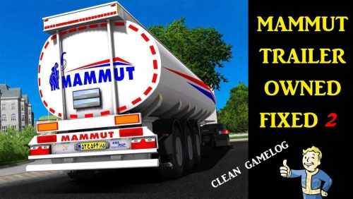 MAMMUT TANKER TRAILER OWNED FIXED 2 1.32