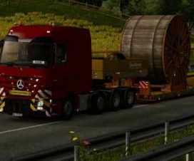 Mercedes Actros MP3 Reworked v2.6 [Schumi] 1.32
