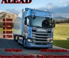 ALEXD Scania R Real Engine and Transmission v1.1