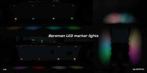 Boreman LED Marker Lights v1.61